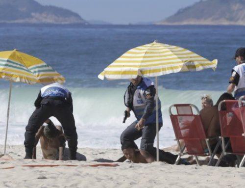 Entre policial colombiano roubado e até pessoa esfaqueada, Copacabana vive domingo violento